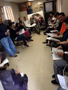 AB 60 Study Circle at Center