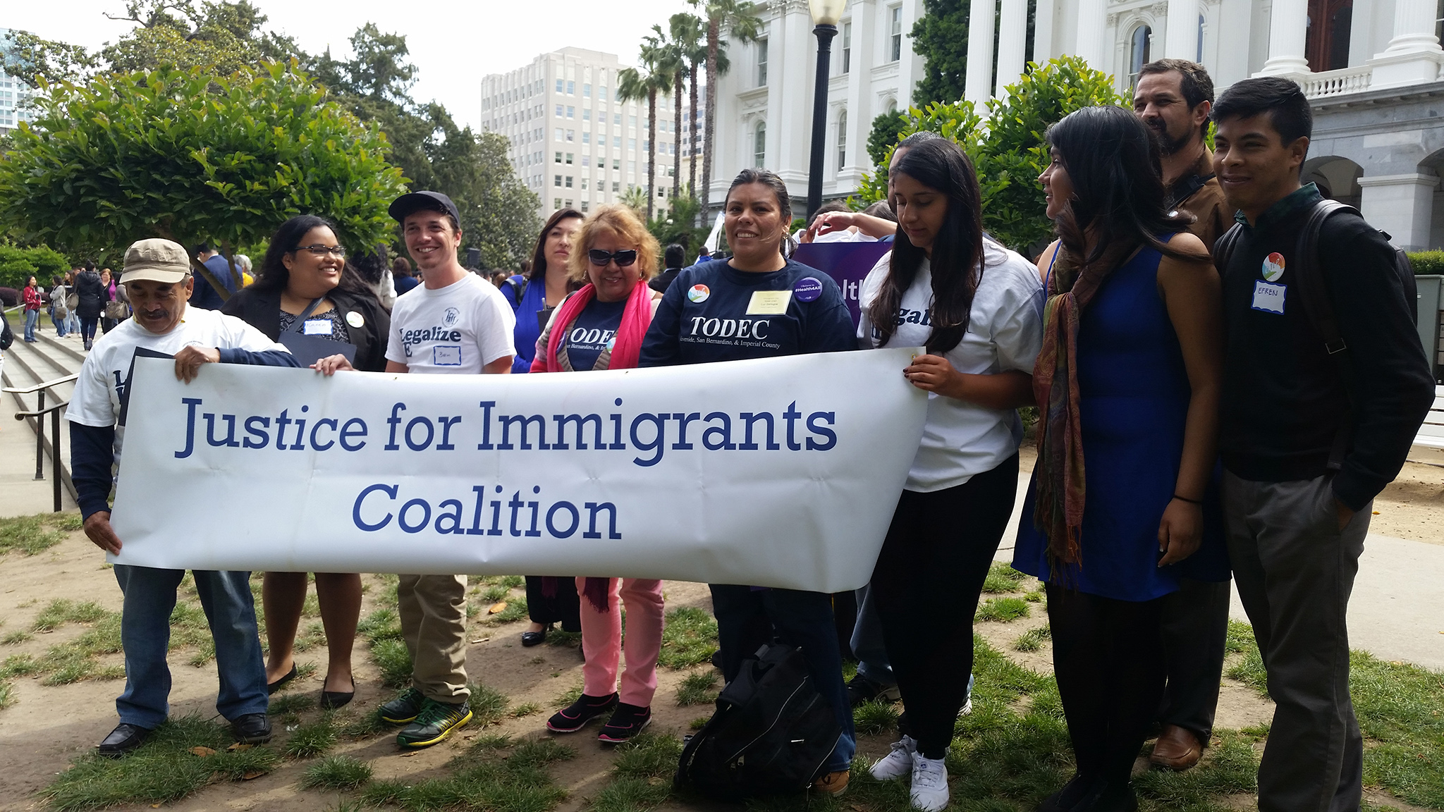 Día Inmigrante 2015 Cabildear Sacramento