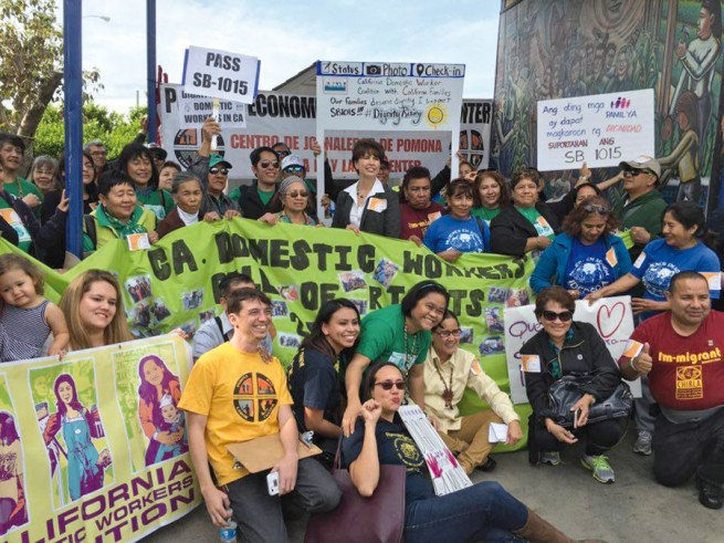 California ethnic communities rally for domestic workers' rights