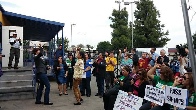 95% Of Domestic Workers Are Women. In California, They're Demanding Better Pay