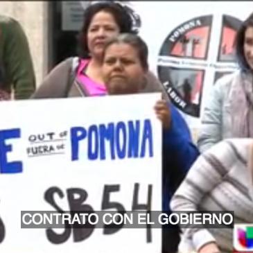 Pomona termina contrato con ICE argumentando que no desea separar familias