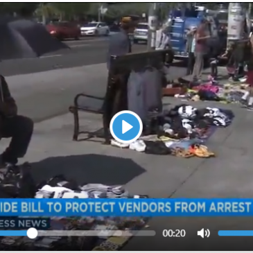 CA bill would decriminalize street vending