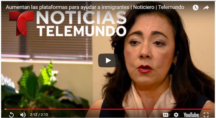 Aumentan las plataformas para ayudar a inmigrantes