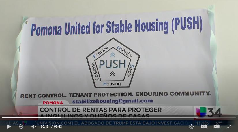 Univision Noticias: Control de Renta en Pomona