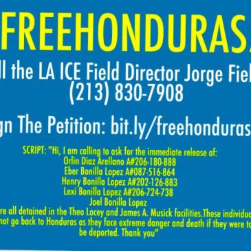 Free the Honduras Five