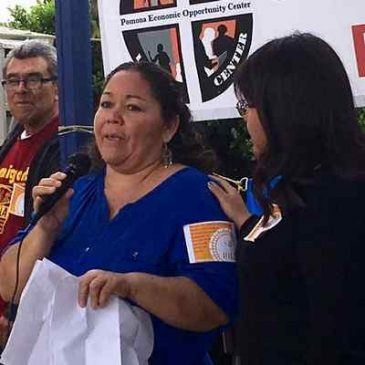 Domestic workers rally in support of permanent protections